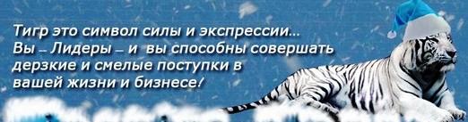 С годом тигра!