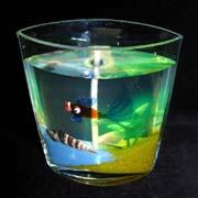 Свечи с гипсовыми рыбками